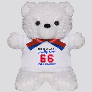 Really Cool 66 Birthday Designs Teddy Bear