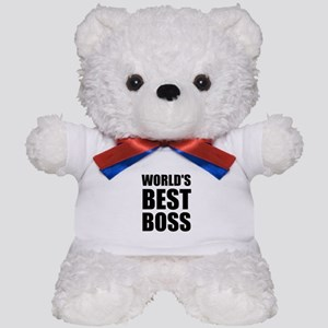 Worlds Best Boss 2 Teddy Bear