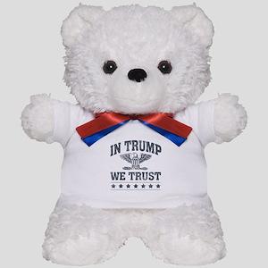 In Trump We Trust Teddy Bear