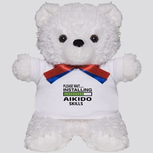 Please wait, Installing Aikido skills Teddy Bear