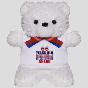 66 Getting More Ahead Birthday Teddy Bear