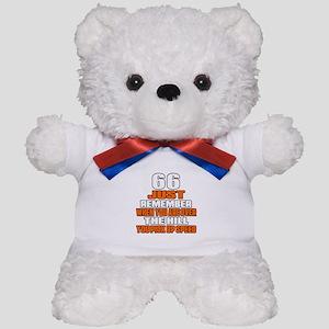 66 Just Remember Birthday Designs Teddy Bear