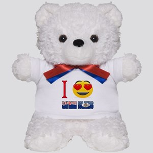 I love Cayman Islands Teddy Bear