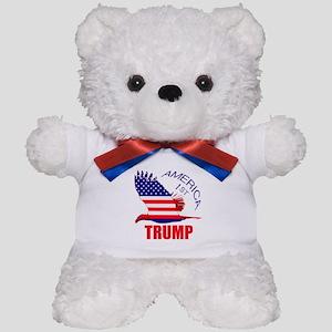 Trump America First Eagle Teddy Bear