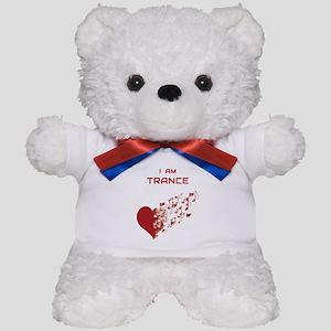 I am Trance Heart Teddy Bear