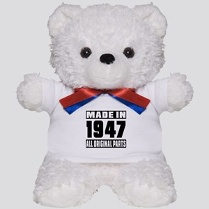 Made In 1947 Teddy Bear