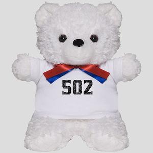 502 Louisville Area Code Teddy Bear
