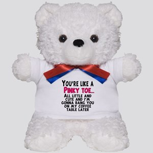 Pinky Toe Teddy Bear
