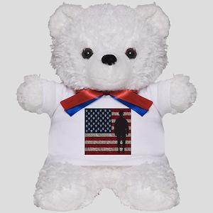 USFlag Soldier Teddy Bear
