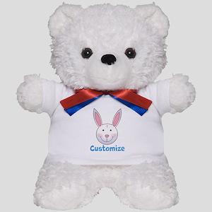 Custom Easter Bunny Teddy Bear