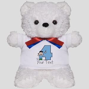 Lucy 4-Year-Old Birthday Teddy Bear