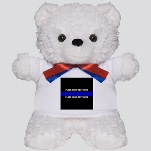 Thin Blue Line Customized Teddy Bear