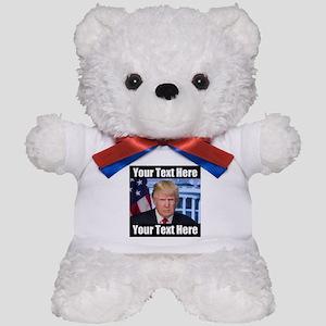 President Donald Trump Meme Teddy Bear
