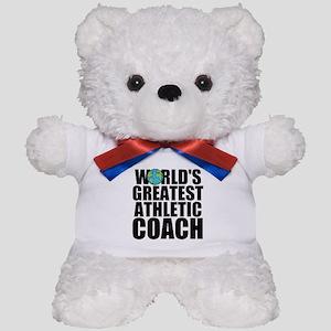 World's Greatest Athletic Coach Teddy Bear