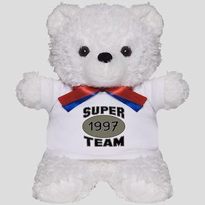 Super Team 1997 Teddy Bear