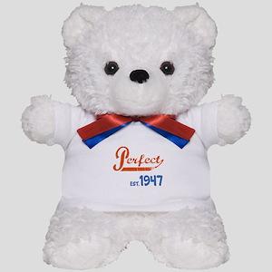 Perfect, Est. 1945 Teddy Bear