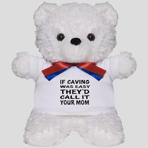 If Caving Sports Designs Teddy Bear
