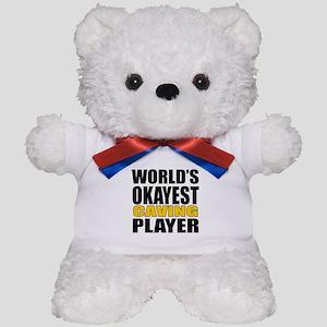 Worlds Okayest Caving Player Designs Teddy Bear