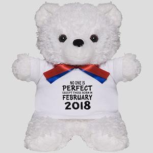 February 2018 Birthday Designs Teddy Bear