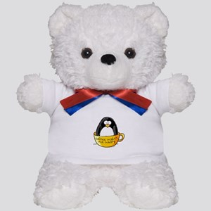 Coffee penguin Teddy Bear