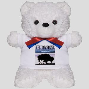 bison_yellowstone_national_PARK Teddy Bear