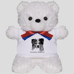 Aussie Charcoal Teddy Bear