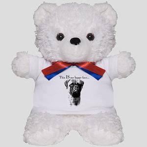 Bullmastiff Happy Face Teddy Bear