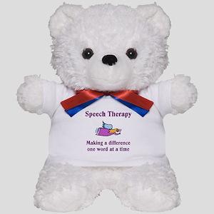 Speech Therapy Teddy Bear