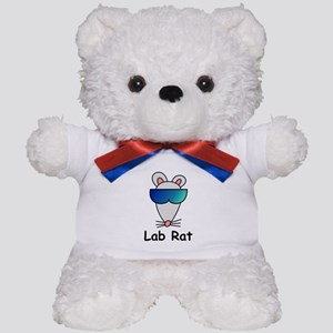 Lab Rat molecularshirts.com Teddy Bear