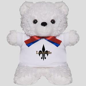 Louisville Fleur de Lis Teddy Bear