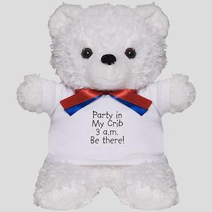 Crib Party Teddy Bear