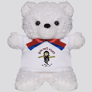 Light CSI Teddy Bear
