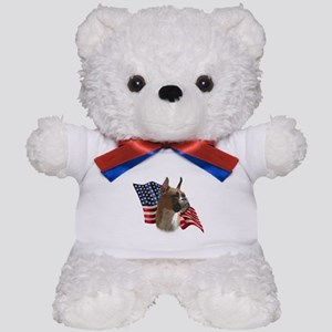Boxer Flag Teddy Bear