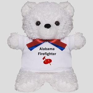 Alabama Firefighter Teddy Bear