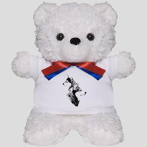 Mal Charcoal2 Teddy Bear