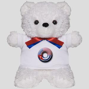 USA - Cuba Teddy Bear