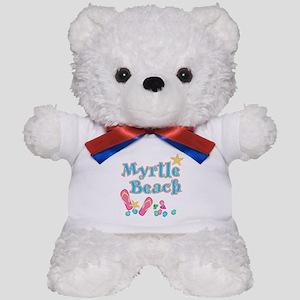 Myrtle Beach Flip-Flops - Teddy Bear