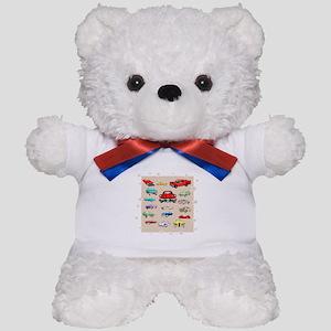 Classic Cars Teddy Bear