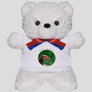 Airedale Peace Teddy Bear
