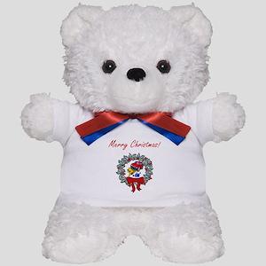 Mechanic Christmas Teddy Bear