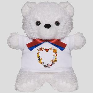 Dog Heart Teddy Bear