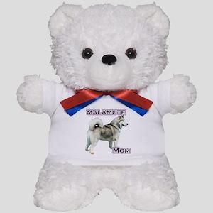 Malamute Mom4 Teddy Bear