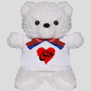 Eshgh and Love in a heart Teddy Bear