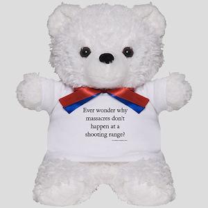 Guns & Massacres Teddy Bear
