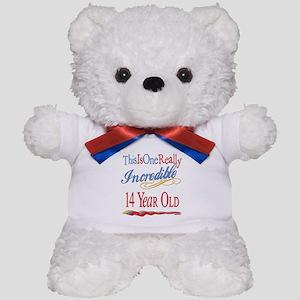 Incredible At 14 Teddy Bear