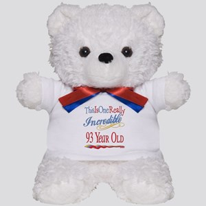 Incredible At 93 Teddy Bear