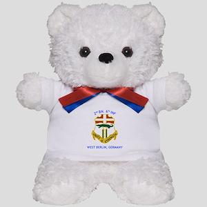 2nd BN 6th INF Gear Teddy Bear