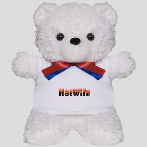 Flaming Hotwife Teddy Bear