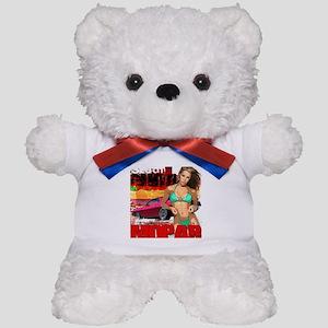 Cuda Girl Teddy Bear
