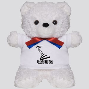 B-52 Bomber Buff themed Teddy Bear